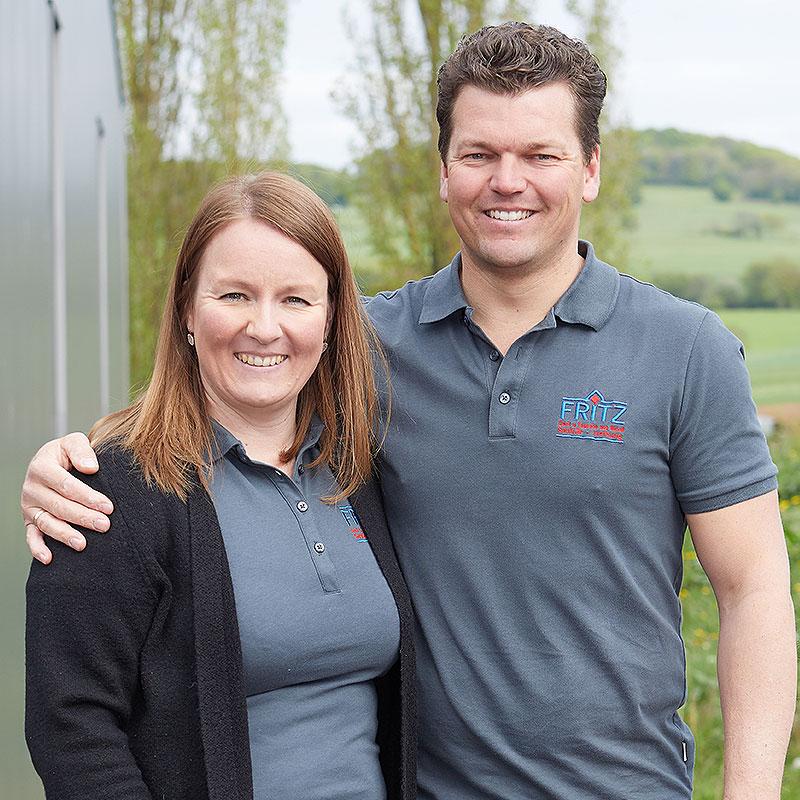 Daniel Fritz und Nadine Wahl -  Geschäftsführer der Fritz GmbH & Co. KG