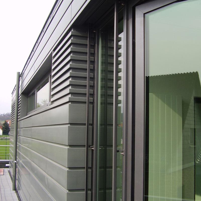 Fassadenverkleidung Referenzen