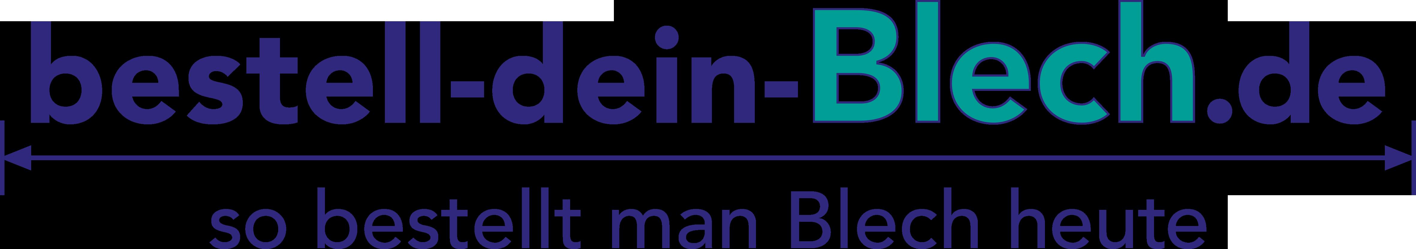 Partnerlogo: Bestell dein Blech.de