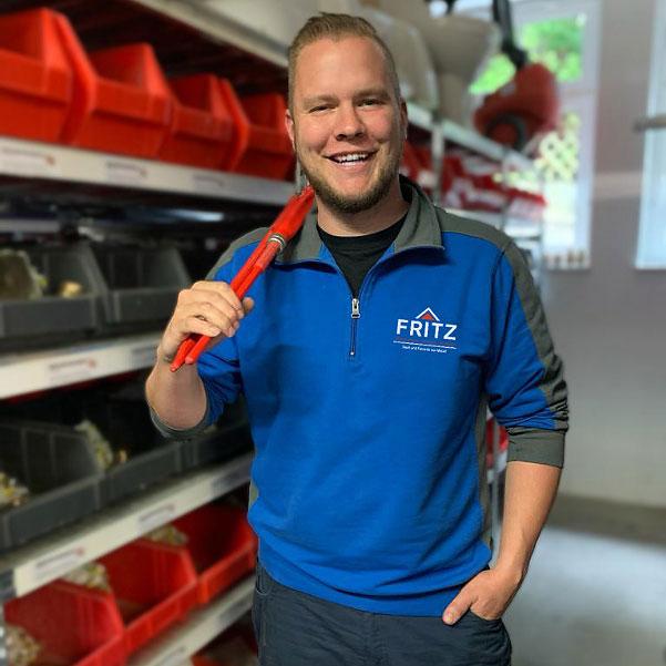 Mitarbeiter-Sanitaer-Fritz